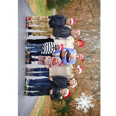 2015 Christmas Card By Ellen   Greeting Card 5  X 7    30lltvuxz98k   Www Artscow Com Back Cover