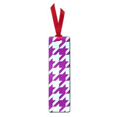 Houndstooth 2 Purple Small Book Marks by MoreColorsinLife