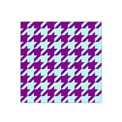 Houndstooth 2 Purple Satin Bandana Scarf by MoreColorsinLife