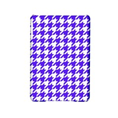 Houndstooth Blue Ipad Mini 2 Hardshell Cases by MoreColorsinLife