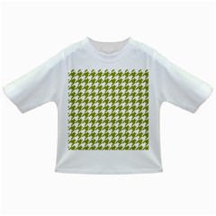 Houndstooth Green Infant/toddler T Shirts by MoreColorsinLife