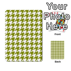 Houndstooth Green Multi-purpose Cards (Rectangle)  by MoreColorsinLife
