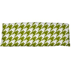 Houndstooth Green Body Pillow Cases Dakimakura (two Sides)  by MoreColorsinLife