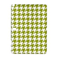 Houndstooth Green Samsung Galaxy Note 10 1 (p600) Hardshell Case by MoreColorsinLife
