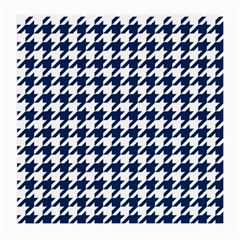 Houndstooth Midnight Medium Glasses Cloth (2 Side) by MoreColorsinLife
