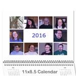 calendar a - Wall Calendar 11  x 8.5  (12-Months)