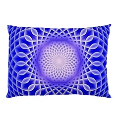 Swirling Dreams, Blue Pillow Cases (two Sides)