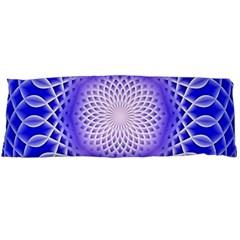 Swirling Dreams, Blue Body Pillow Cases (dakimakura)  by MoreColorsinLife
