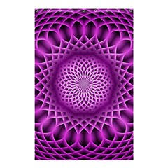 Swirling Dreams, Hot Pink Shower Curtain 48  X 72  (small)  by MoreColorsinLife