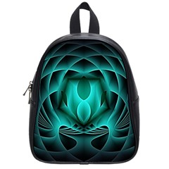 Swirling Dreams, Teal School Bags (small)  by MoreColorsinLife