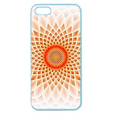 Swirling Dreams,peach Apple Seamless Iphone 5 Case (color) by MoreColorsinLife