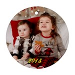xmas 2015 Adam - Ornament (Round)