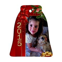 Xmas 2015 By Brigitte Winnard   Bell Ornament (two Sides)   S105bqsulxup   Www Artscow Com Back