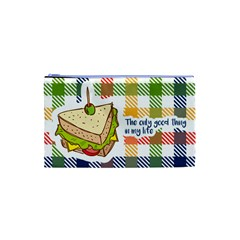 Sandwich Cosmetic Bag (XS) by typewriter