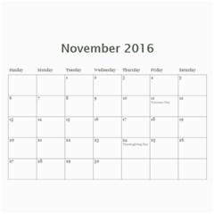 2016 Calendar By Christine   Wall Calendar 11  X 8 5  (12 Months)   Vi713qn183v0   Www Artscow Com Nov 2016