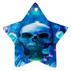 Skull Worship Ornament (star)  by icarusismartdesigns
