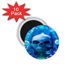 Skull Worship 1.75  Magnets (10 pack)