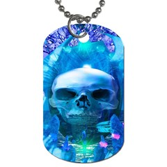 Skull Worship Dog Tag (one Side) by icarusismartdesigns