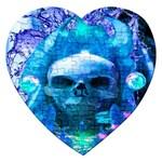 Skull Worship Jigsaw Puzzle (Heart)
