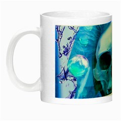 Skull Worship Night Luminous Mugs by icarusismartdesigns