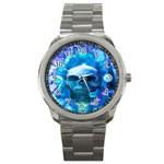 Skull Worship Sport Metal Watches