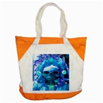 Skull Worship Accent Tote Bag