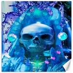 Skull Worship Canvas 12  x 12