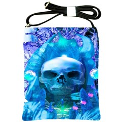 Skull Worship Shoulder Sling Bags by icarusismartdesigns
