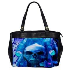 Skull Worship Office Handbags by icarusismartdesigns