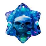 Skull Worship Ornament (Snowflake)