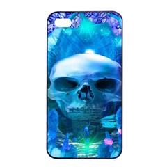 Skull Worship Apple Iphone 4/4s Seamless Case (black) by icarusismartdesigns