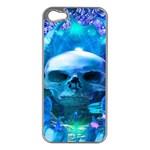 Skull Worship Apple iPhone 5 Case (Silver)
