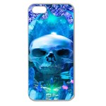 Skull Worship Apple Seamless iPhone 5 Case (Clear)