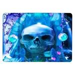 Skull Worship Samsung Galaxy Tab 10.1  P7500 Flip Case