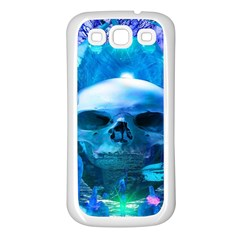 Skull Worship Samsung Galaxy S3 Back Case (white) by icarusismartdesigns