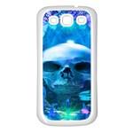 Skull Worship Samsung Galaxy S3 Back Case (White)