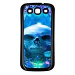 Skull Worship Samsung Galaxy S3 Back Case (Black)