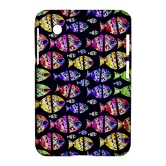 Colorful Fishes Pattern Design Samsung Galaxy Tab 2 (7 ) P3100 Hardshell Case  by dflcprints