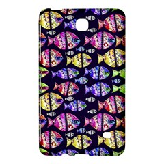 Colorful Fishes Pattern Design Samsung Galaxy Tab 4 (8 ) Hardshell Case  by dflcprints