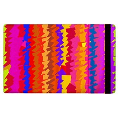Colorful pieces Apple iPad 2 Flip Case by LalyLauraFLM