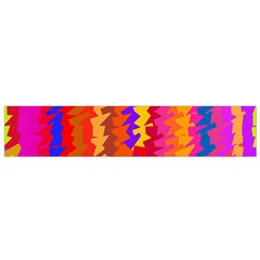 Colorful Pieces Flano Scarf by LalyLauraFLM