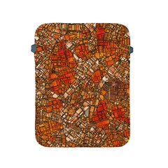 Fantasy City Maps 3 Apple Ipad 2/3/4 Protective Soft Cases by MoreColorsinLife