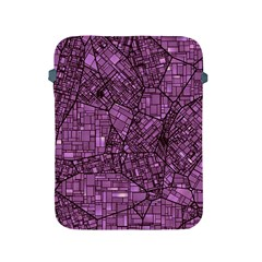 Fantasy City Maps 4 Apple iPad 2/3/4 Protective Soft Cases by MoreColorsinLife