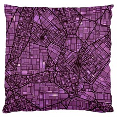 Fantasy City Maps 4 Standard Flano Cushion Cases (two Sides)  by MoreColorsinLife