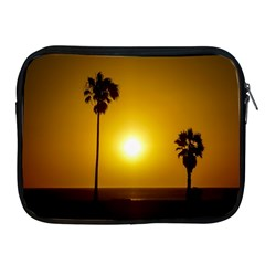 Sunset Scene At The Coast Of Montevideo Uruguay Apple Ipad 2/3/4 Zipper Cases by dflcprints