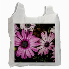 Beautiful Colourful African Daisies  Recycle Bag (one Side) by OZMedia