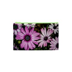 Beautiful Colourful African Daisies  Cosmetic Bag (XS) by OZMedia