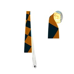 Abstract Square Checkers  Neckties (one Side)  by OZMedia