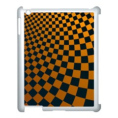 Abstract Square Checkers  Apple Ipad 3/4 Case (white) by OZMedia