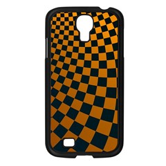 Abstract Square Checkers  Samsung Galaxy S4 I9500/ I9505 Case (black) by OZMedia